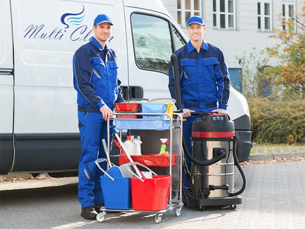 Gebäudereinigung - Multiclean Sarbar GmbH & Co. KG